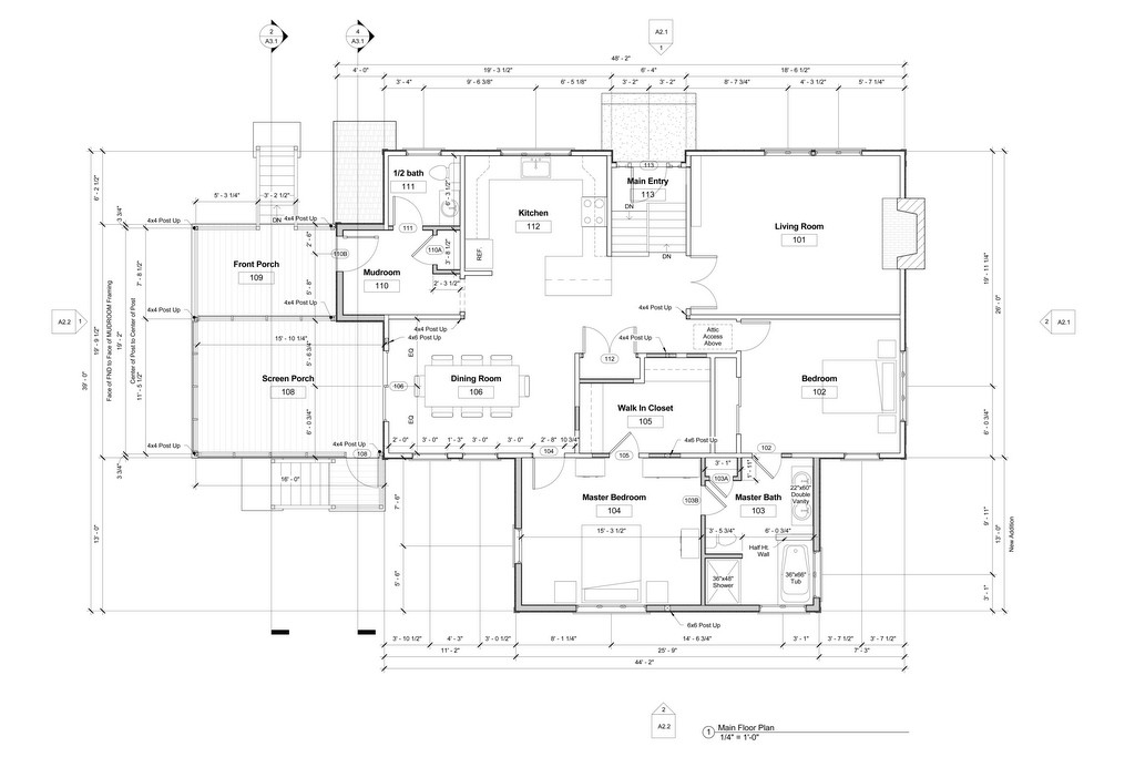 Residential construction drawings for Construction plan drawing
