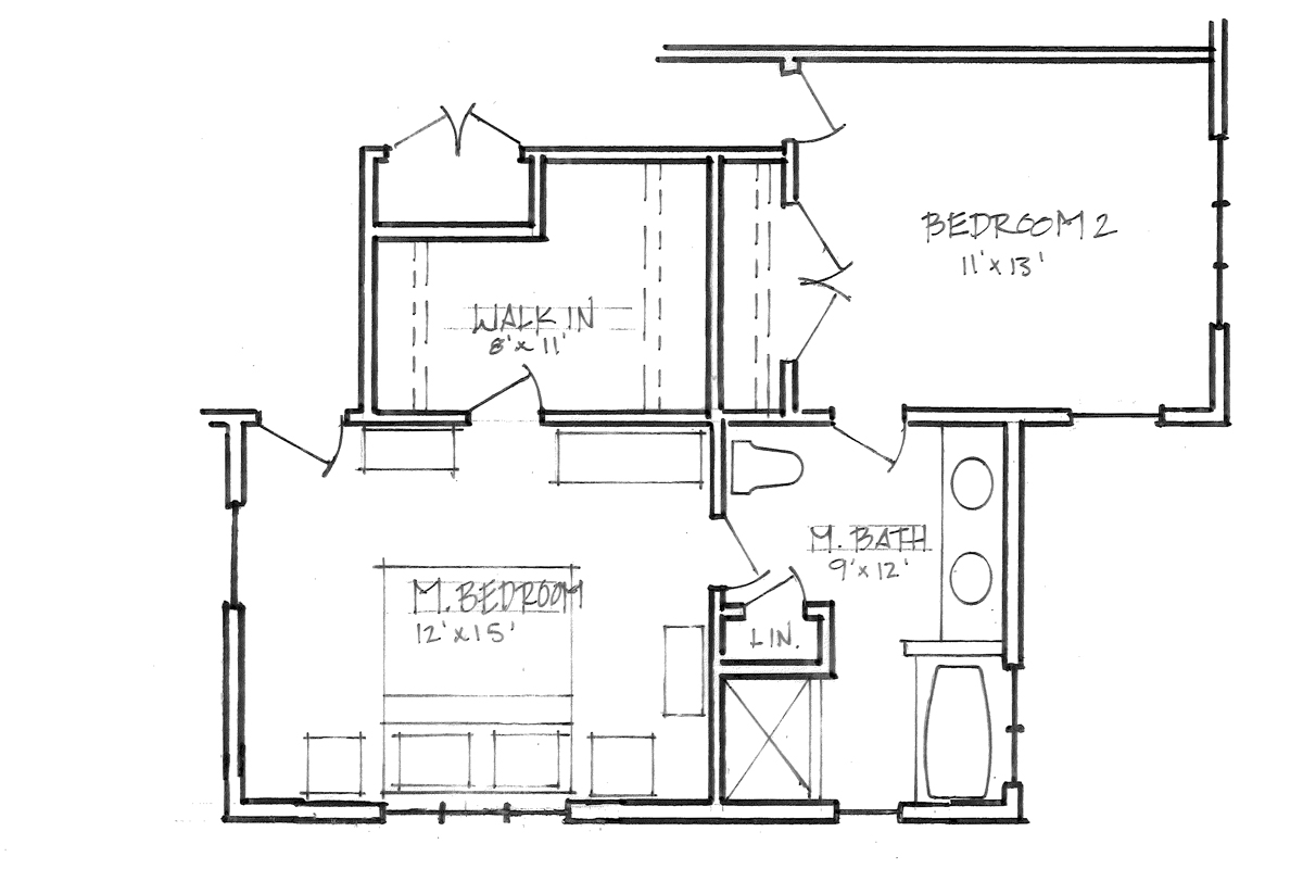 schematic design bedroom option